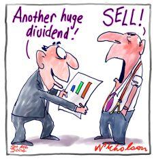 Dividend Mindset of Wall Street